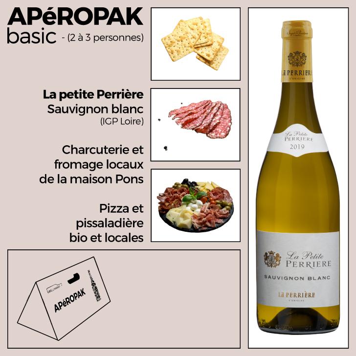 Wine Connexion - Apéropak - La Petite Perrière - Sauvignon - AOP Loire