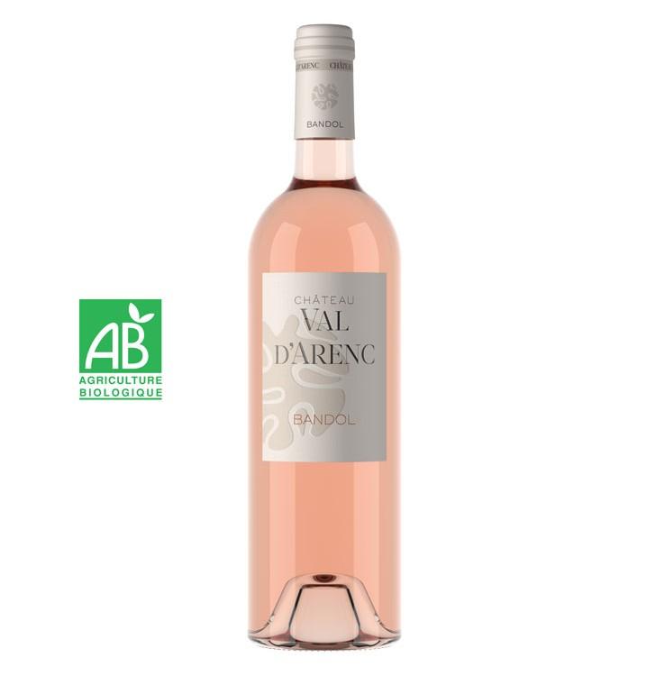 Wine Connexion - Château Val d'Arenc rosé bio