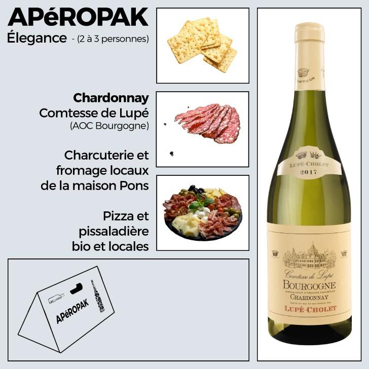 Wine Connexion - Apéropak - Bougogne Sauvignon - Lupé-Cholet