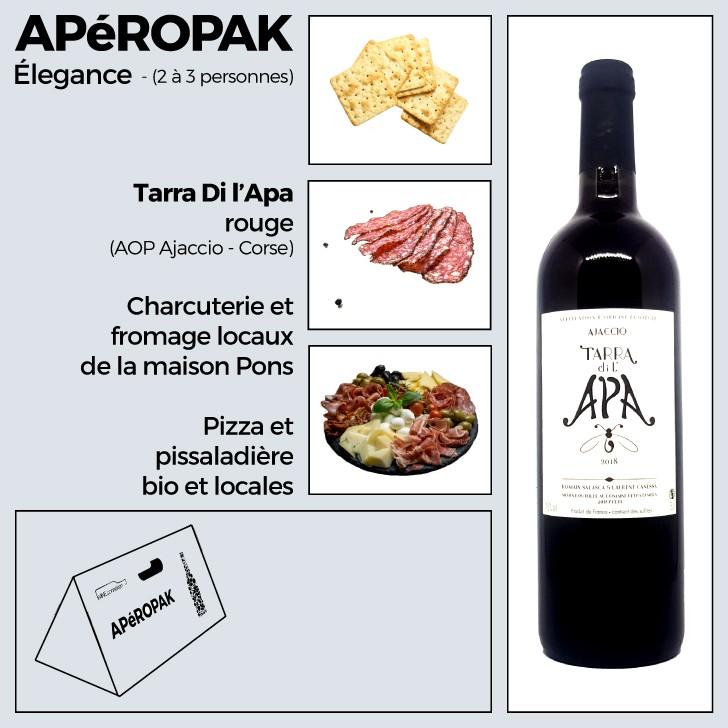 Wine Connexion - Apéropak - Tarra Di l'Apa rouge - Corse