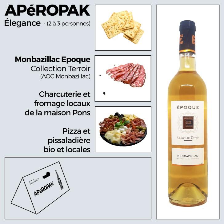 Wine Connexion - Apéropak élégance - Monbazillac époque collection terroir