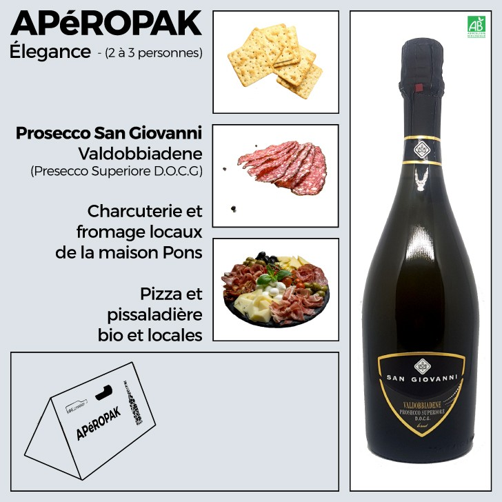 Wine Connexion - Apéropak - P San Giovannirosecco
