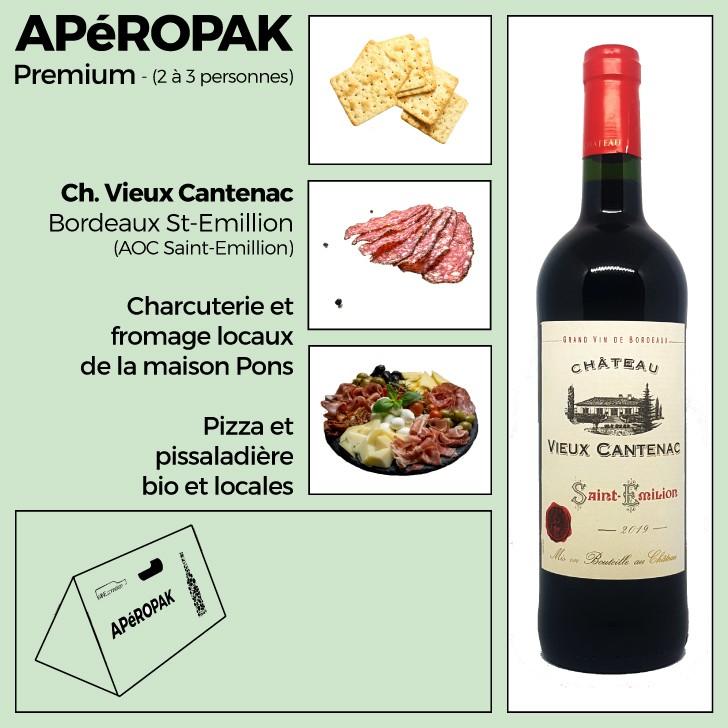 Wine Connexion - Apéropak - Château Rochecolombe Côtes Du Rhône rouge
