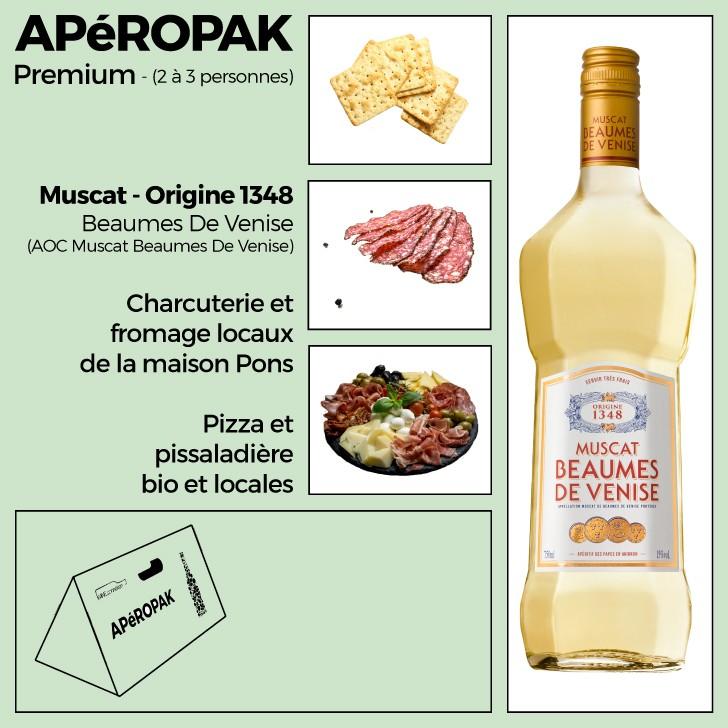 Wine Connexion - Apéropak - Muscat Beaumes De Venise