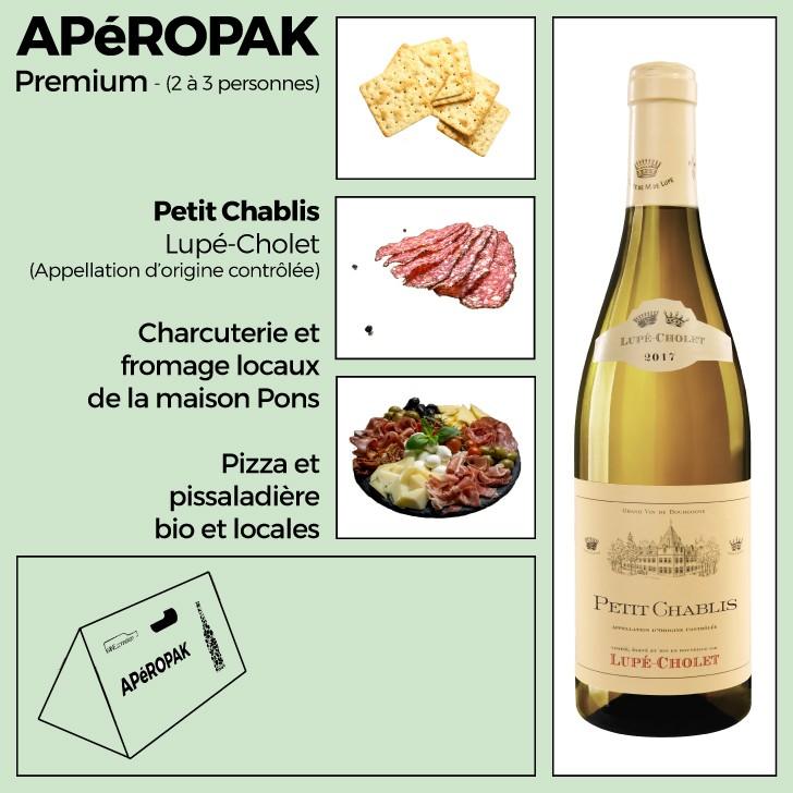 Wine Connexion - Apéropak - Petit Chablis maison Lupé-Cholet