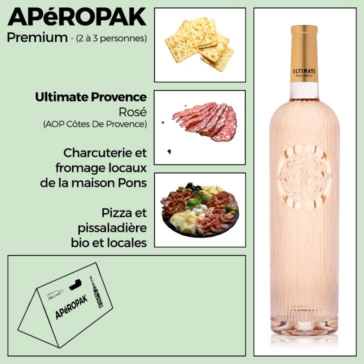 Wine Connexion - Apéropak - Ultimate Provence rosé - Côtes De Provence
