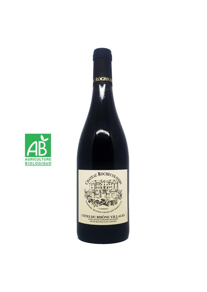 Wine Connexion - Château Rochecolombe bio - Côtes du Rhône villages.