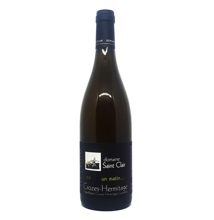 Wine Connexion - Crozes Hermitage - Domaine St Clair - Cuvée un matin blanc